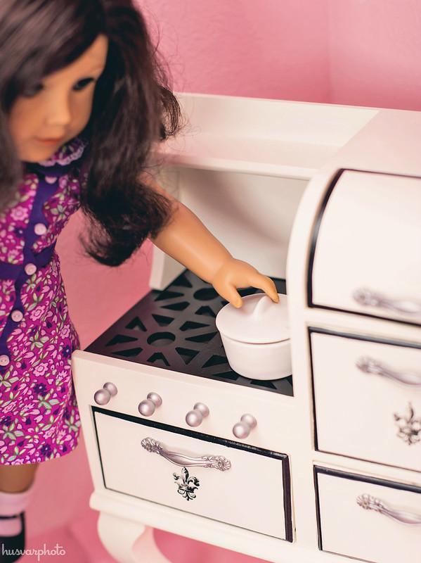 vintage stove american girl dolls #intheknowkid