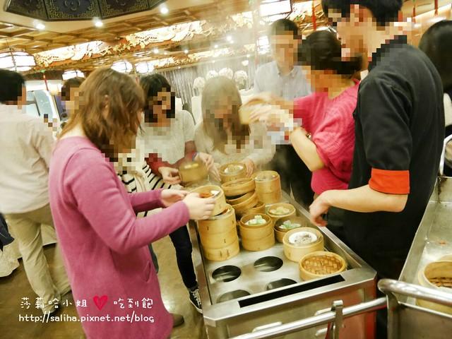 台北港式飲茶吃到飽六福客棧金鳳廳 (25)