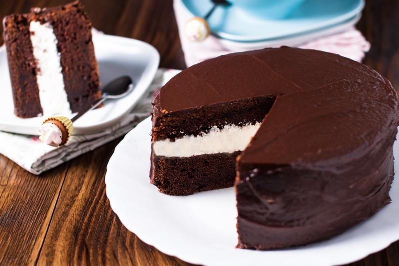 Torta con panna da cucina e cioccolato ricette popolari - Panna da cucina ricette ...