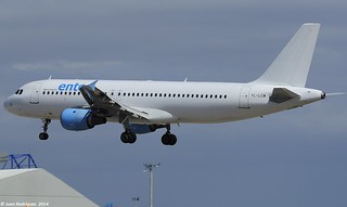 YL-LCM - ENTER AIR (SmartLynx Airlines)  Airbus A320-211
