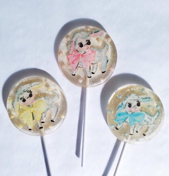 a secret forest lollipops