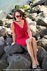 Pinup Beach Babe