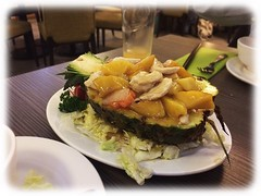Stir Fried Chicken with Mango & Pineapple
