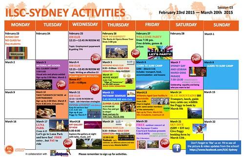 ILSC activities