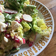 Spring in a salad #newtoday #meatfree