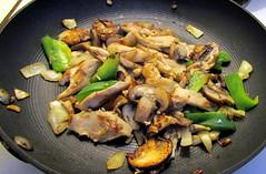 Chicken Onion Mushroom Pepper Food Cary NC 5600