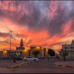 #bahrain #sunset #evening #colour #awesome