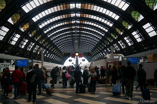 Milano Centrale. Milan. Italy.
