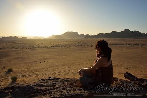 travel sunset atardecer desert wadirum jordan desierto rum wadi ocaso