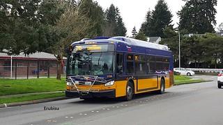 King County Metro 2015 New Flyer XDE35 #3708