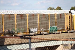 Train Graffiti Benching