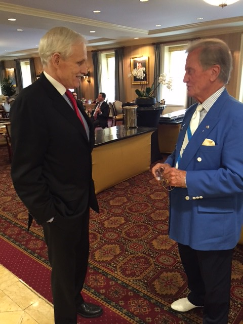Pat Boone and Jim Martin