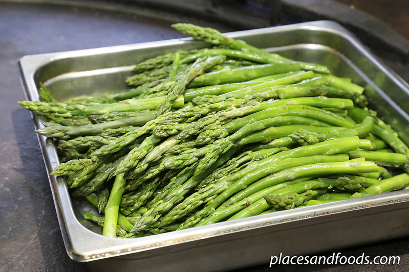 day 5 swan valley edgecrombe asparagus cooked