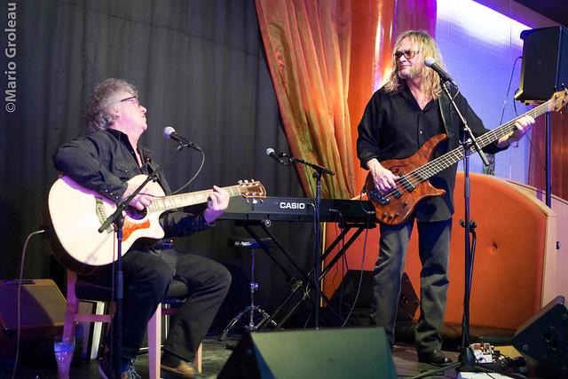Breen Leboeuf et Brian Greenway au Cuisto (TRO)