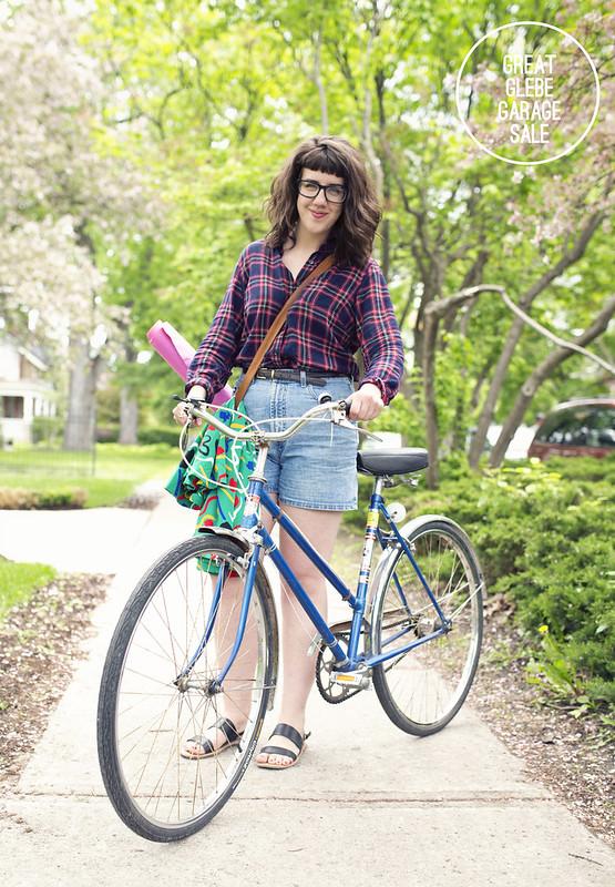 Great Glebe Garage Sale - Bike style by Zara