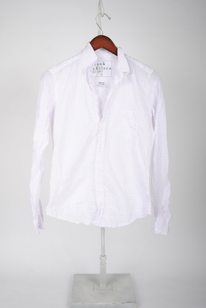 Barry Shirt - Pink and Blue Grid