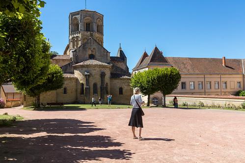 Semur-en-Brionnais Kirche 1