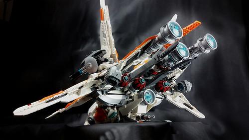 Merkabah gunship - engines