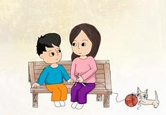 Minh hoa tho Xuan Quynh - Me va Con - Chau Anh - 20160304