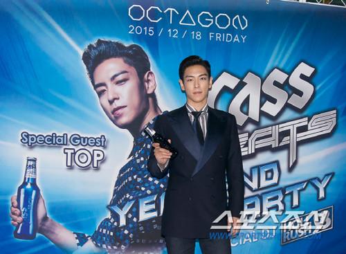 TOP - Cass Beats Year End Party - 18dec2015 - sportschosun - 09