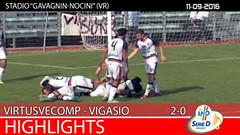 Virtus V. - Vigasio del 11-09-16