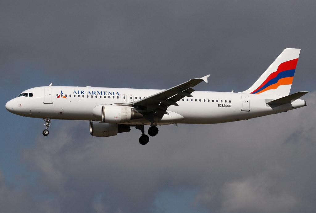 EK32050 Air Armenia A320
