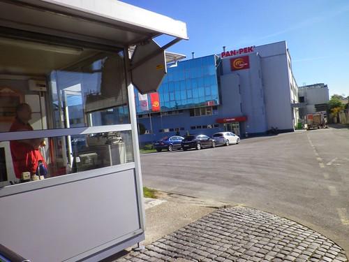 克羅埃西亞的連鎖麵包店Panpek的生產工廠。圖片提供:楊宗翰