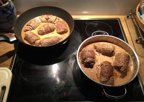 Rouladen schmoren / Stew roulades
