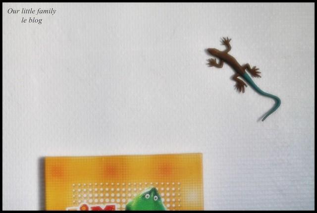 Une étagère en gros Lego