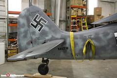 N447FW 550476 - 990002 - Flug Werk FW-190A-8 N - Tillamook Air Museum - Tillamook, Oregon - 131025 - Steven Gray - IMG_8097