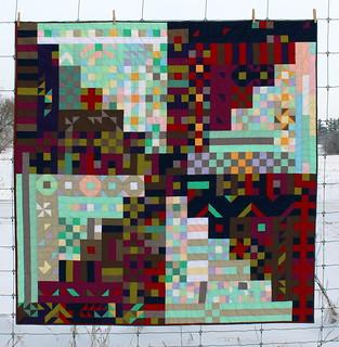 Propelled Pixels Quilt