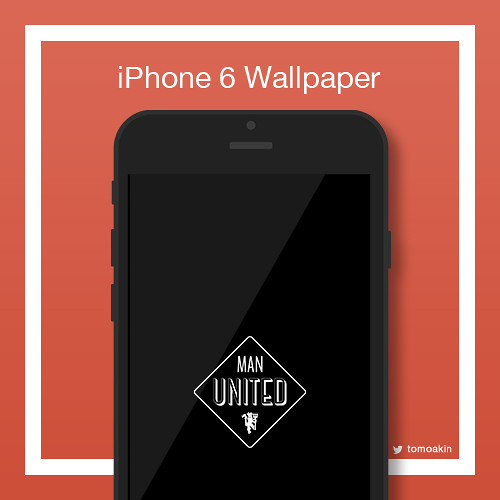 Manchesterunited iphones wallpaper original logo ver 1 voltagebd Choice Image