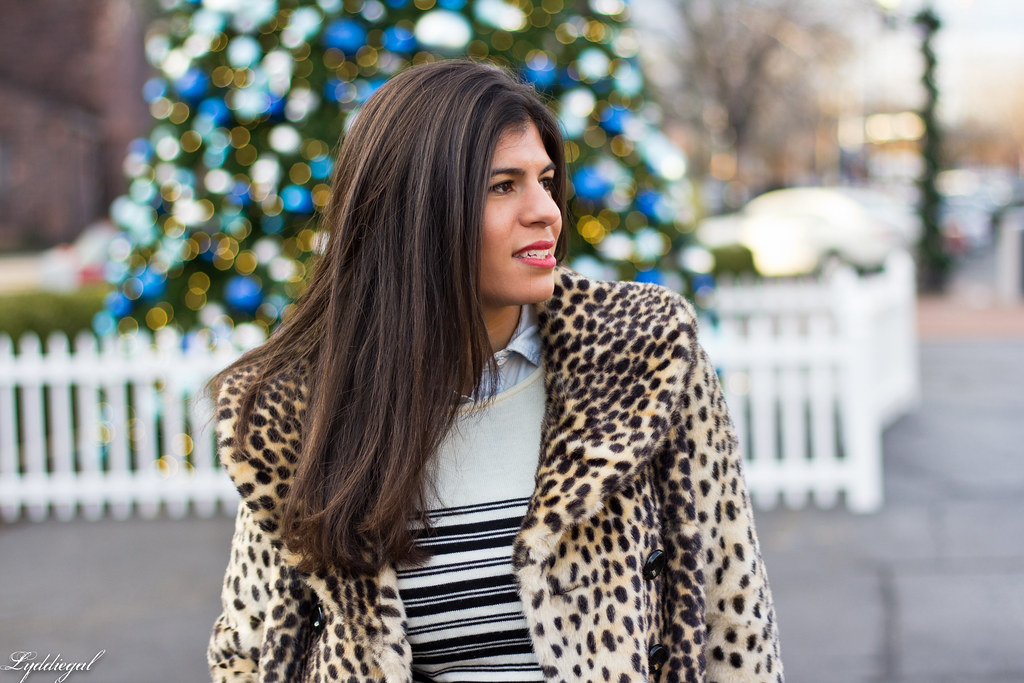 leopard coat, striped sweater, chambray-4.jpg
