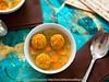 Pumpkin Matzo Dumpling Soup (2/2)