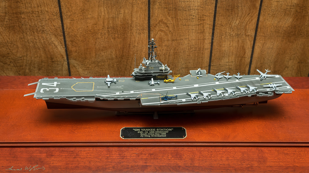 The Ship Model Forum • View topic - Done with my USS Oriskany