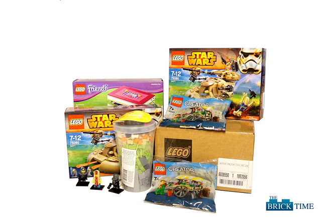 First Loot in 2015 for THE BRICK TIME - Team