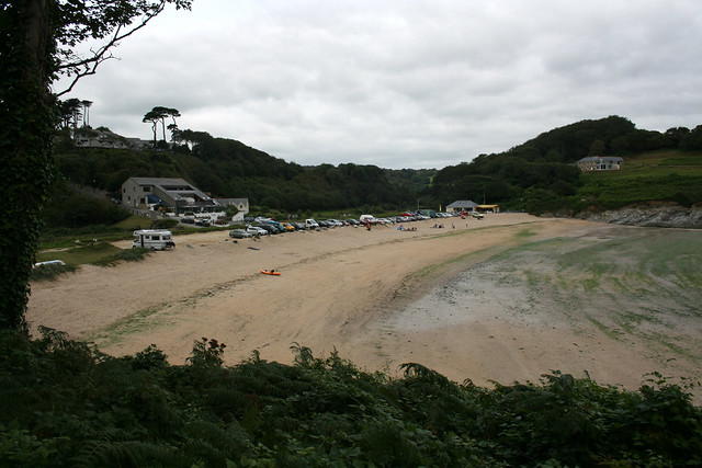Meanporth Beach