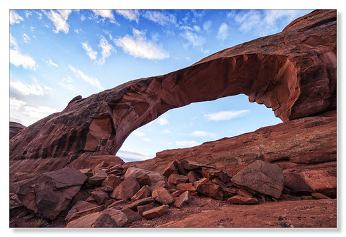 park utah arch tunnel arches national