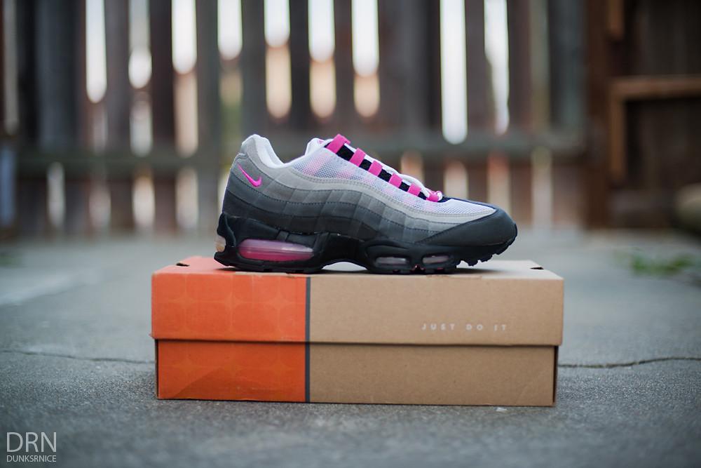 2002 Fire Pink AM95's.