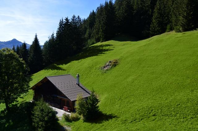 Típica casa Suiza