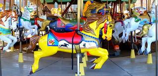 Kuva Carousel. horses horse washingtondc smithsonian carousel merrygoround karussell tiovivo amusementride