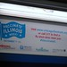 Small photo of CTA Railcar Advertisement for ChicagoFluShots.org
