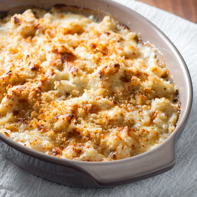 roasted cauliflower gratin roasted cauliflower gratin roasted