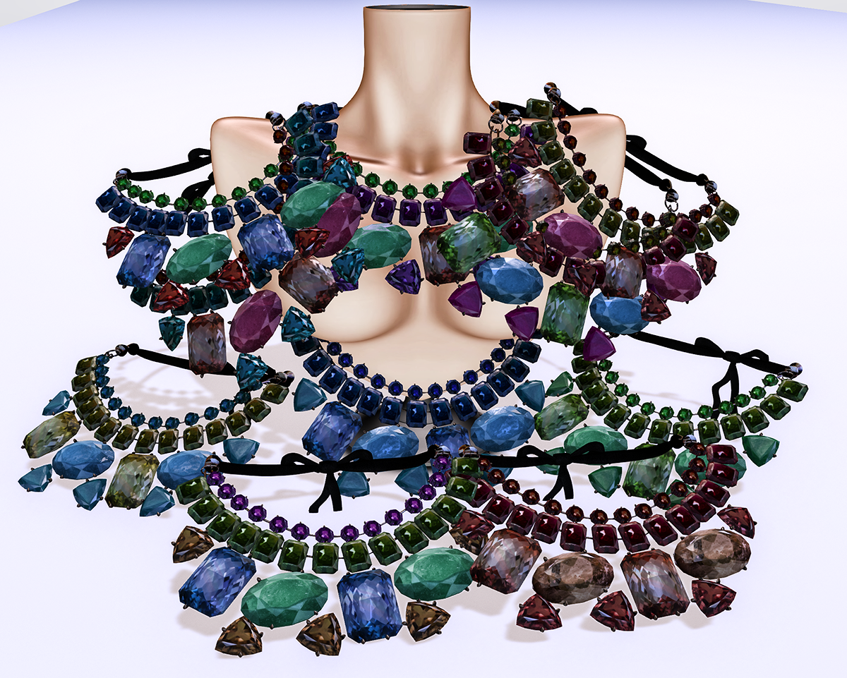 Ugenia II necklace is out