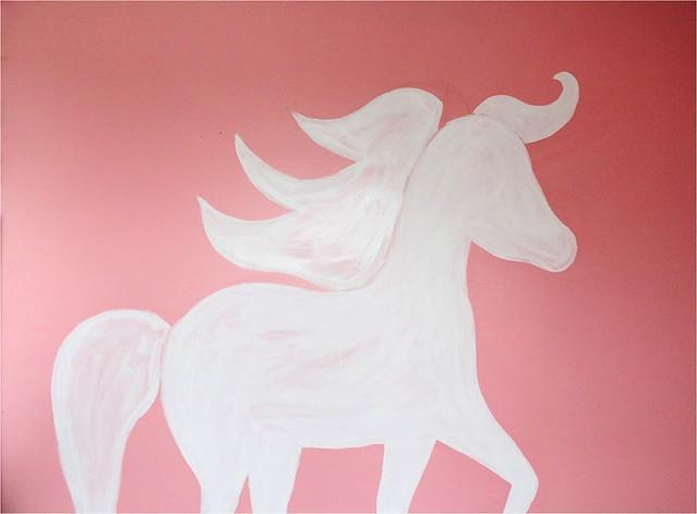 Best DIY Geometric Unicorn Wall DIY Geometric Unicorn Wall