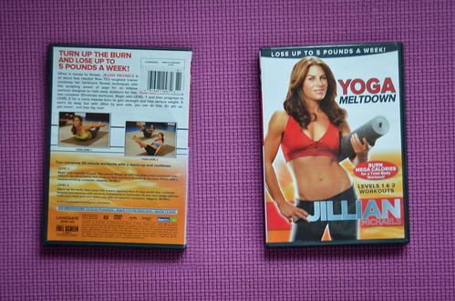 Jillian Michaels Yoga Meltdown DVD