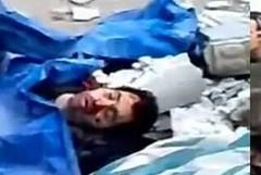 صورة مزيفة تناقلها النشطاء قالوا أنها لجثة ماهر الأسد
