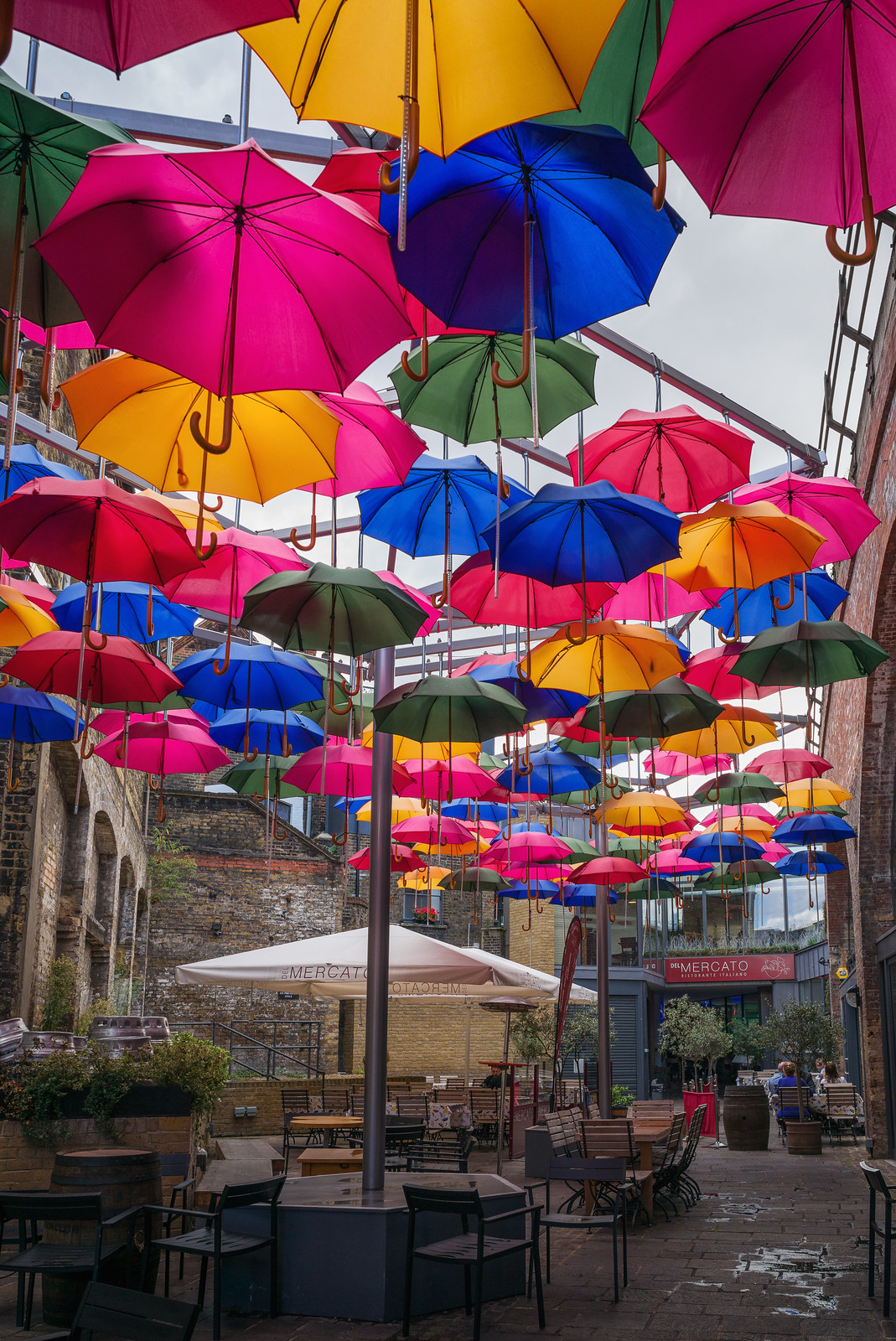 Umbrellas in Southwark