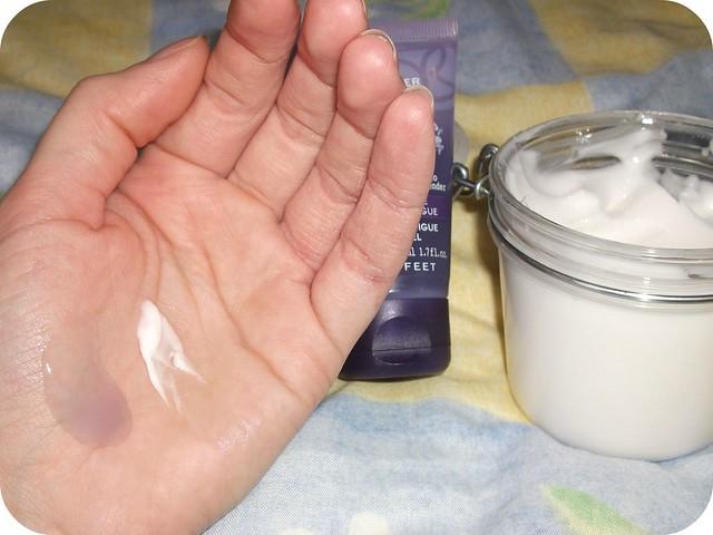 Yves Rocher Anti Fatigue Iced Gel & Organic Oats Silky Body Cream