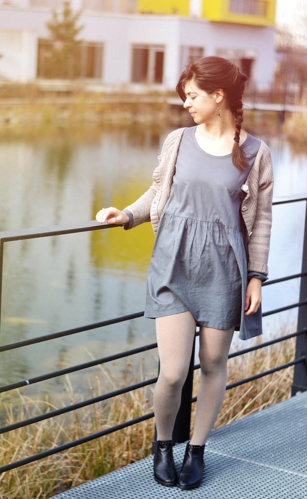 La robe gris souris